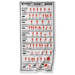Everybody Dies Tea Towel