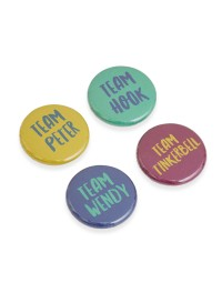 Peter Pan Pin Badges