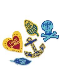 Peter Pan Applique Badges